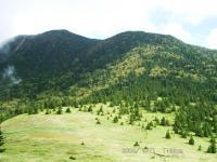 根子岳途中から四阿山