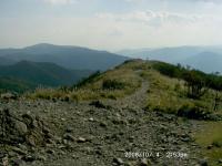 武奈ヶ岳から蓬莱山