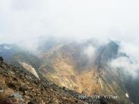 1茶臼岳途中より朝日岳