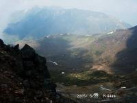 2茶臼岳頂上より流石・大倉・三倉・