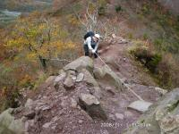 04-Ⅰ 上宝珠越への登り