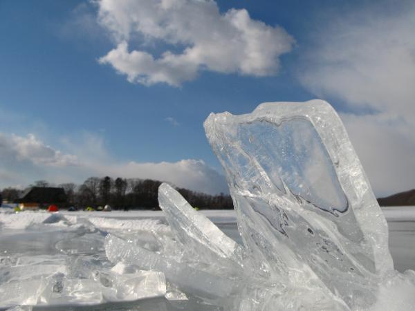氷が透き通ってキレイ~