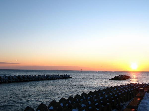 夕陽発見~~~