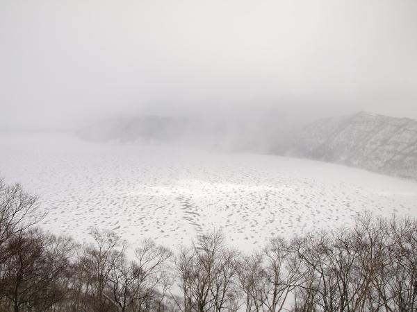 白い・寒い。。。