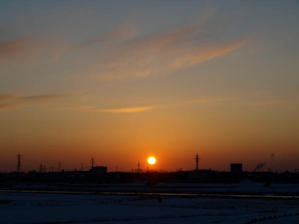 今日も夕陽~~~