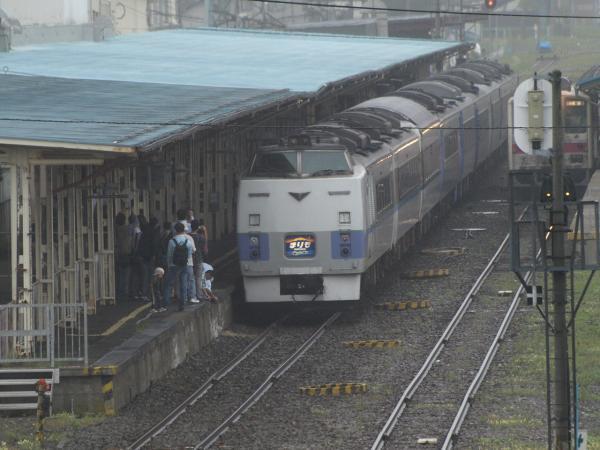 釧路駅にて。。。