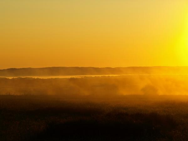 けあらしの向こうには霧がたれこめてます~