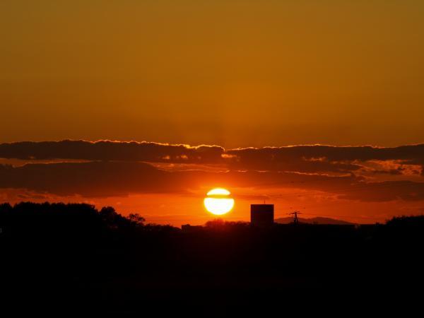 日が沈むのが早くなってきましたね~