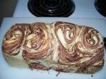 チョコレートマーブルパン