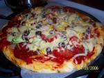 いつものピザ