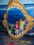 鮫の歯と2人