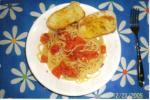 fresh tomato pasta