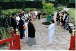 結婚式の写真(カラー)