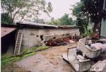 全壊の地下車庫