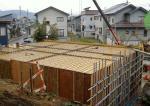我家の基礎工事