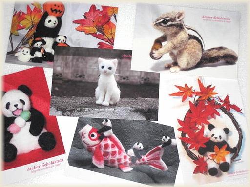 Atelier Scholastica オリジナルポストカード