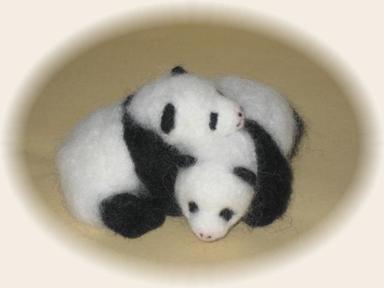 パンダふたごの赤ちゃん