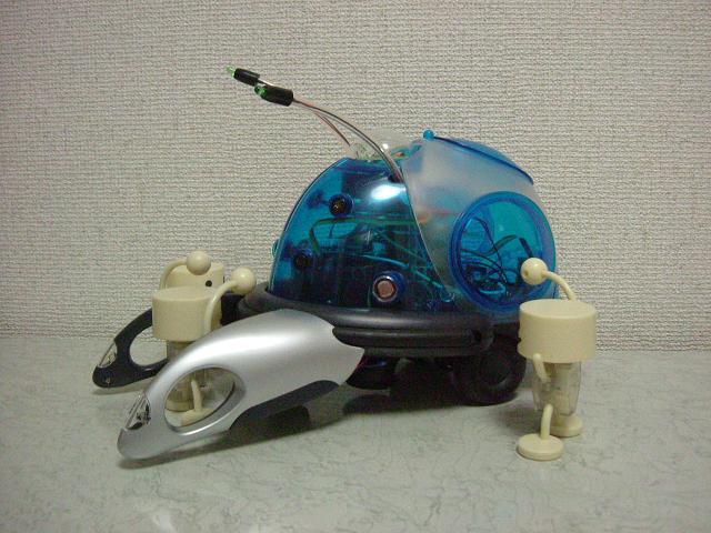 リアルロボット とノックマン