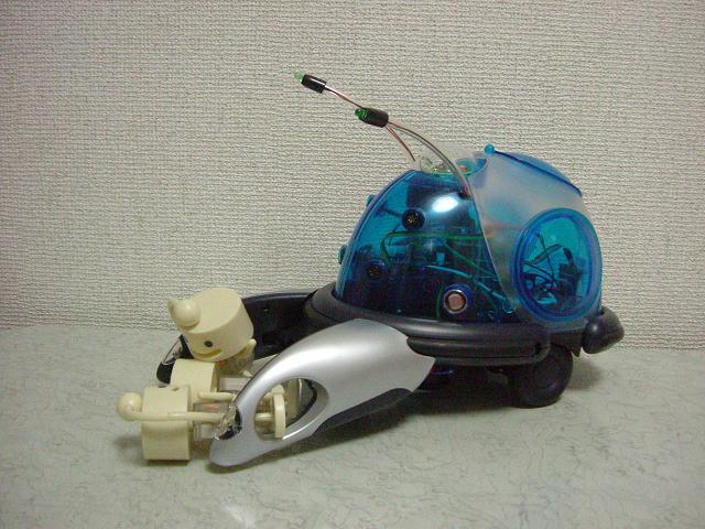 リアルロボット ノックマン粉砕