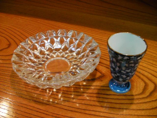 カップと灰皿