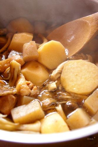 里芋、菜の花-001