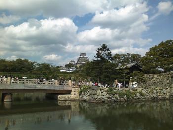 渋滞!姫路城