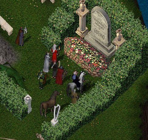 グエノの墓にて