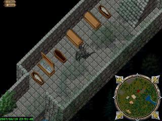 謎の地下墓地