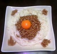納豆ソーメン