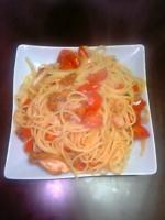 チキチキトマトパスタ