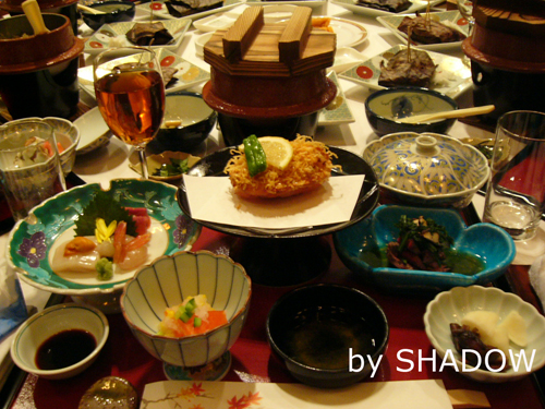 四日目の晩御飯