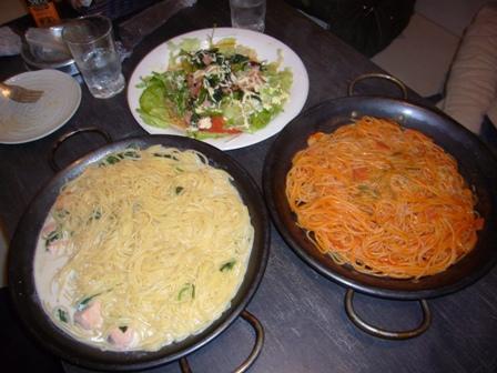 スパゲティ達