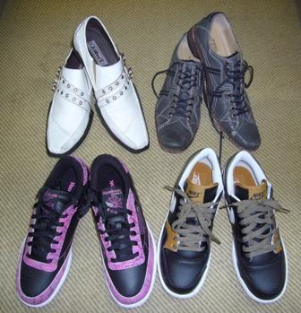 にいにいの靴達