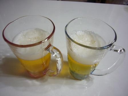 ビール入り