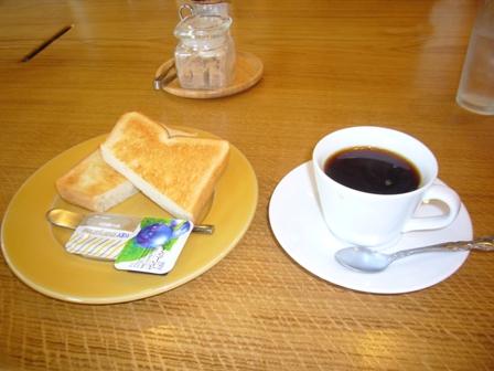 トースト&コーヒー