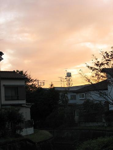 夕暮れの空の雲 008