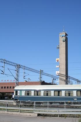 タンペレ駅_出発
