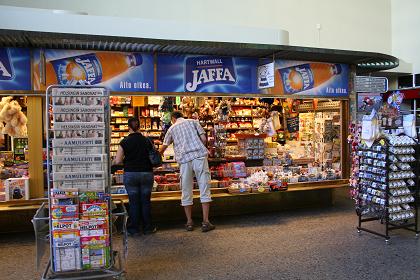 タンペレ駅売店