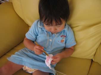 ことちゃんのレース編み