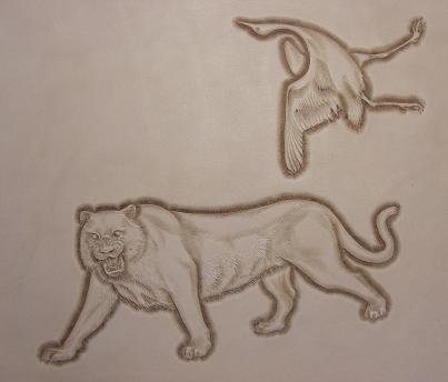 虎と鶴ベベラ