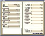 2007年7月3日の戦績表