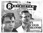 『冷血』ロビーカード。右がS・ウィルソン