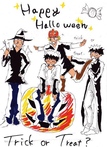 halloween おお振り