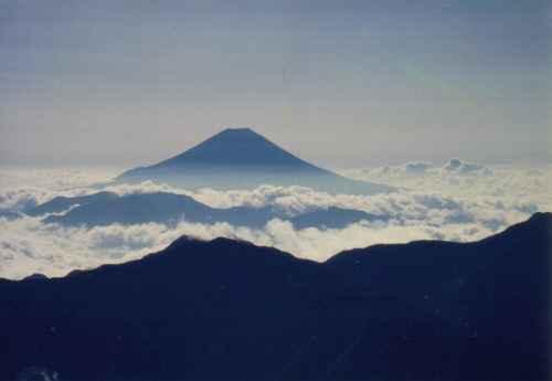 赤石から富士