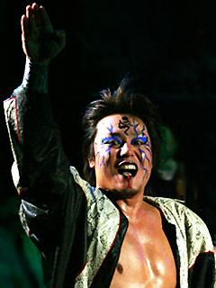 JARASHIMA(ガラガラポーズ・入場時)