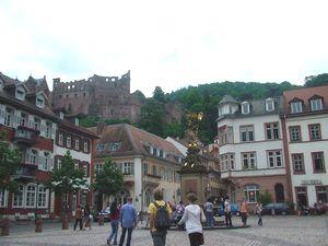 ハイデルベルク旧市街