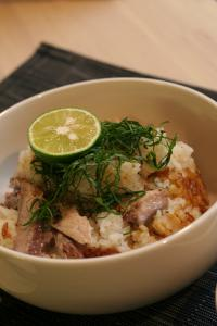 秋刀魚ご飯1