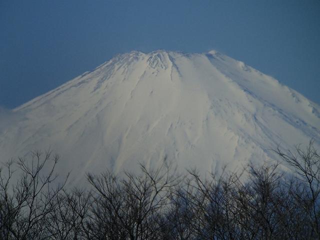 富士山:クリックして大きな画像でご覧ください