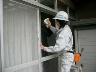 窓拭き 20.2.12