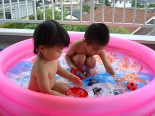 プール開き 2008.7.3